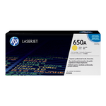 Cartouche de toner d'origine HP 650A jaune - CE272A - OfficePartner.fr