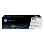Cartouche de toner d'origine HP 128A jaune - CE322A - OfficePartner.fr