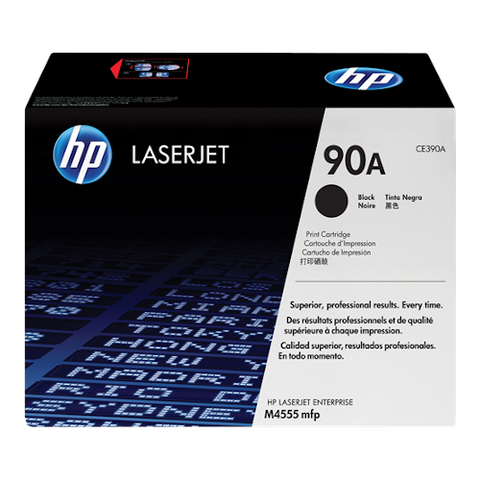 Cartouche de toner d'origine HP 90A noir - CE390A - OfficePartner.fr