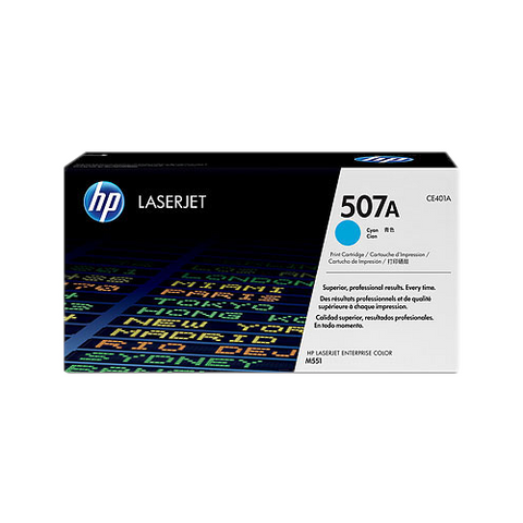 Cartouche de toner d'origine HP 507A couleur cyan - CE401A - OfficePartner.fr