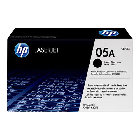 Cartouche de toner d'origine HP 05A noir - CE505A - OfficePartner.fr
