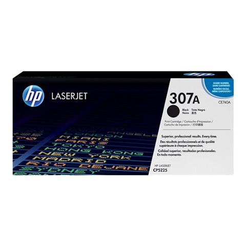 Cartouche de toner d'origine HP 307A noir - CE740A - OfficePartner.fr