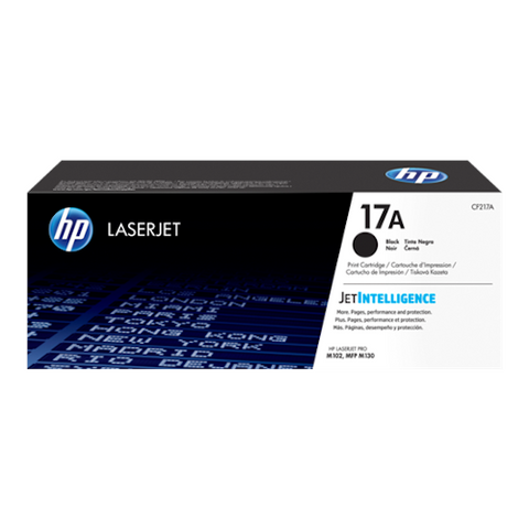 Cartouche de toner d'origine HP 17A noir - CF217A - OfficePartner.fr