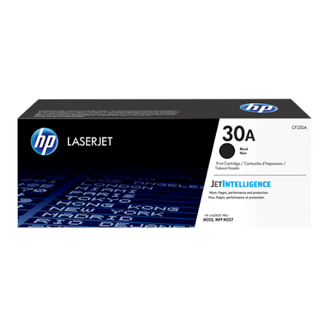 Cartouche de toner d'origine HP 30A noir - CF230A - OfficePartner.fr
