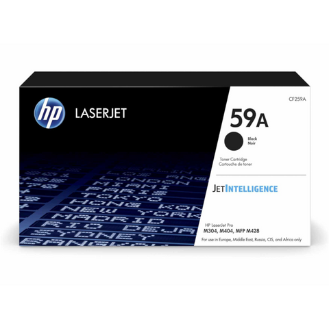 Cartouche de toner d'origine HP couleur noir - CF259A - Officepartner.fr