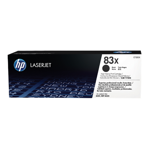 Cartouche de toner d'origine HP 83X noir - CF283X - OfficePartner.fr