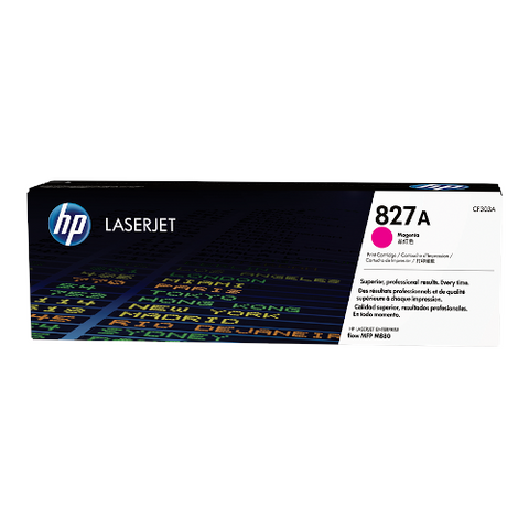 Cartouche de toner d'origine HP 827A magenta - CF303A - OfficePartner.fr