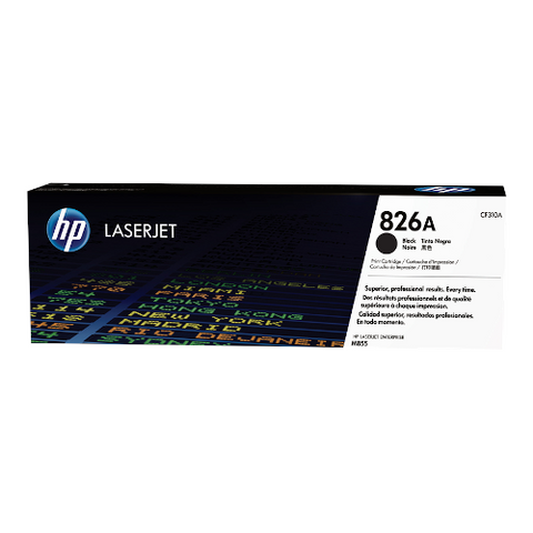 Cartouche de toner d'origine HP 826A couleur noir - CF310A - OfficePartner.fr