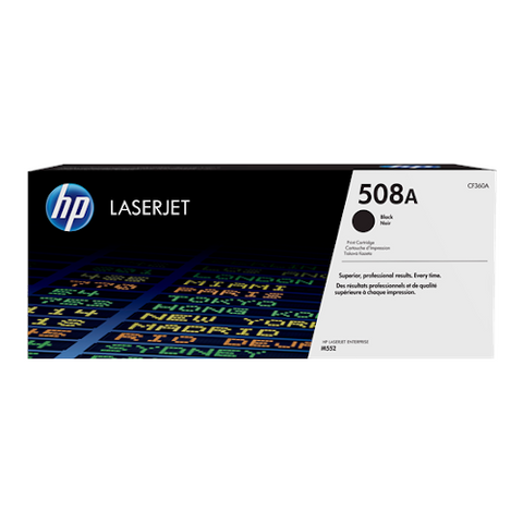 Cartouche de toner d'origine HP 508A couleur noir - CF360A - OfficePartner.fr