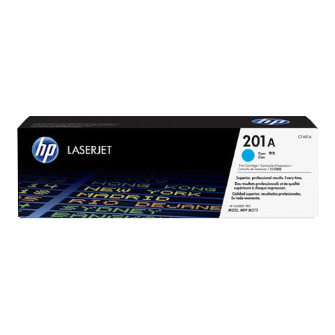 Cartouche de toner d'origine HP 201X cyan - CF401X - OfficePartner.fr