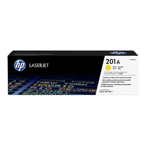 Cartouche de toner d'origine HP 201A jaune - CF402A - OfficePartner.fr