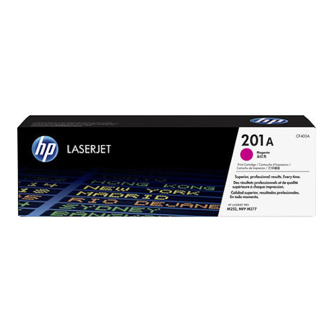 Cartouche de toner d'origine HP 201A magenta - CF403A - OfficePartner.fr