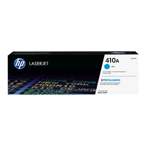 Cartouche de toner d'origine HP 410A cyan - CF411A - OfficePartner.fr