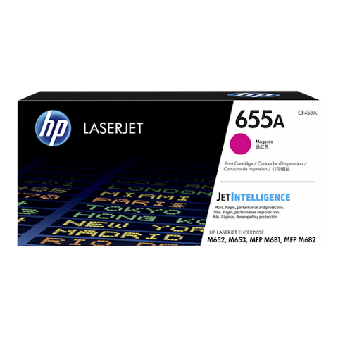 Cartouche de toner d'origine HP 655A magenta - CF453A - OfficePartner.fr