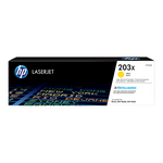 Cartouche de toner d'origine HP 203X jaune - CF542X - OfficePartner.fr