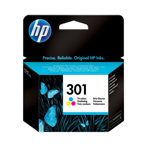 Cartouche d'encre couleur d'origine HP 301 - CH562EE - Officepartner.fr