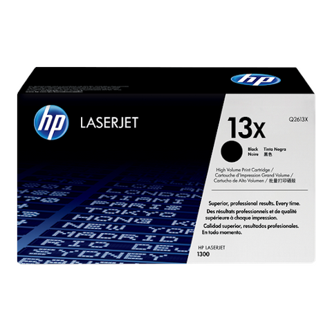 Cartouche de toner d'origine HP 13X noir - Q2613X - OfficePartner.fr