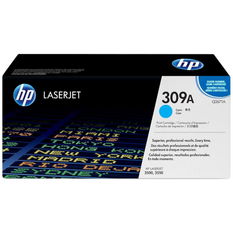 Cartouche de toner d'origine HP 309A cyan - Q2671A - OfficePartner.fr