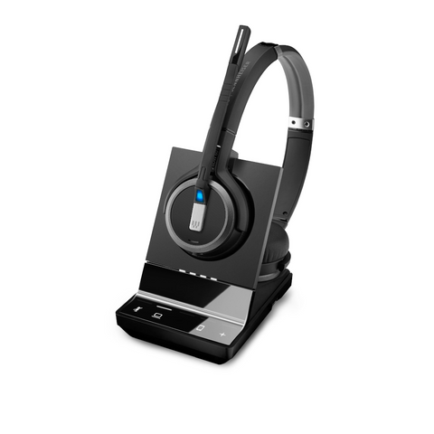Casque sans fil binaural DECT PC Epos Sennheiser - SDW5063-officepartner.fr