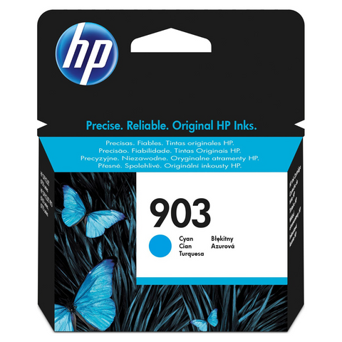 Cartouche d'encre couleur cyan d'origine HP 903 - T6L87AE - officepartner.fr