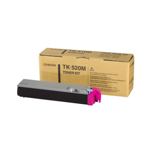 Cartouche de toner d'origine Kyocera magenta TK520M - officepartner.fr
