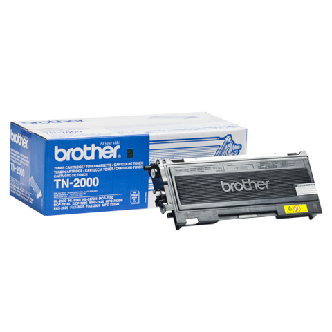 Cartouche de toner d'origine Brother couleur noir TN-2000 - OfficePartner.fr