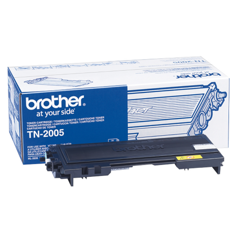 Cartouche de toner d'origine Brother couleur noir TN-2005 - OfficePartner.fr