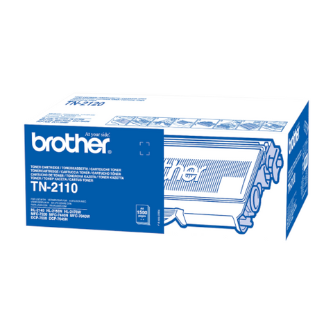 Cartouche de toner d'origine Brother couleur noir TN-2110 - OfficePartner.fr