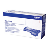 Cartouche de toner d'origine Brother couleur noir TN-2220 - OfficePartner.fr