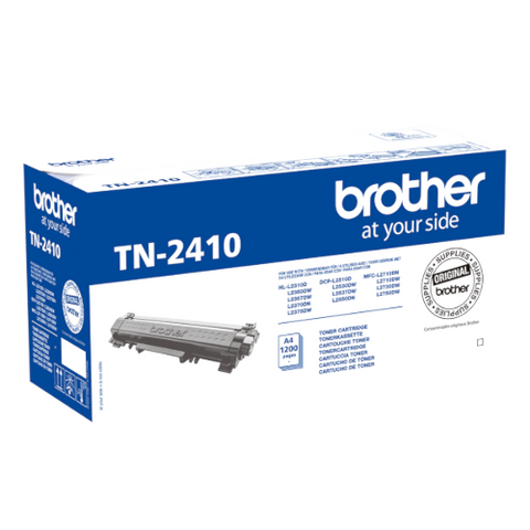 Cartouche de toner d'origine Brother couleur noir TN-2410 - OfficePartner.fr