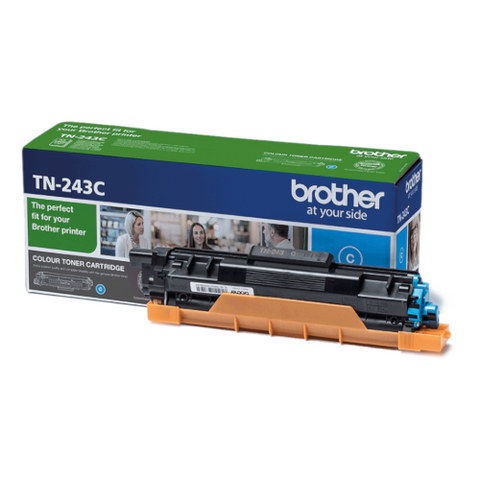 Cartouche de toner d'origine Brother couleur cyan TN-243C - OfficePartner.fr