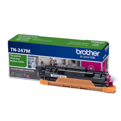 Cartouche de toner d'origine Brother couleur magenta TN-247M - OfficePartner.fr