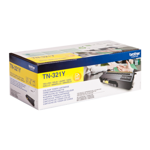 Cartouche de toner d'origine Brother jaune TN-321 Y - OfficePartner.fr