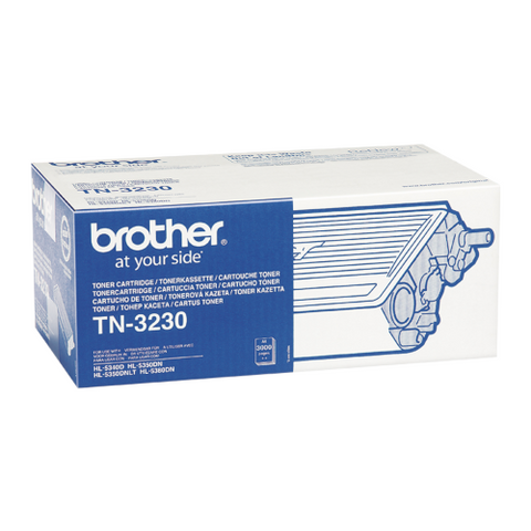 Cartouche de toner d'origine Brother noir TN-3230 - OfficePartner.fr