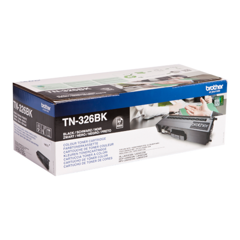 Cartouche de toner d'origine Brother noir TN-326BK - OfficePartner.fr