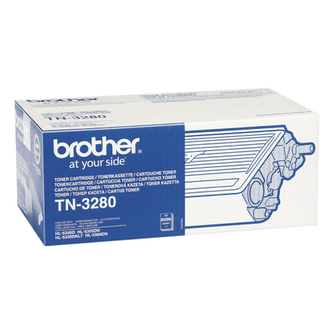 Cartouche de toner d'origine Brother couleur noir TN-3280 - OfficePartner.fr