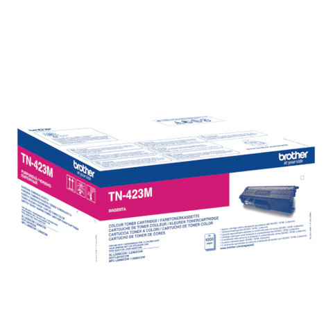 Cartouche de toner d'origine Brother magenta TN-423M - OfficePartner.fr