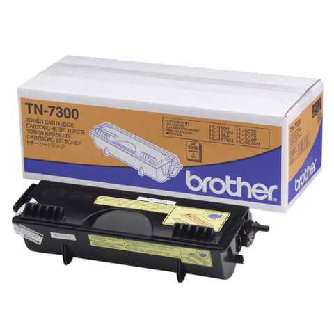 Cartouche de toner d'origine Brother couleur noir TN-7300 - OfficePartner.fr