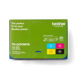 Pack de cartouche de toner d'origine Brother TN243 noir, cyan, magenta, jaune - TN243-CMYK