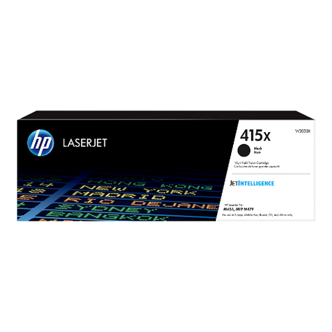 Cartouche de toner d'origine HP 415X couleur noir - W2030X - OfficePartner.fr