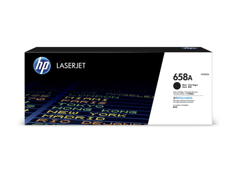 Cartouche de toner d'origine HP 658A couleur noir - W2000A - Officepartner.fr