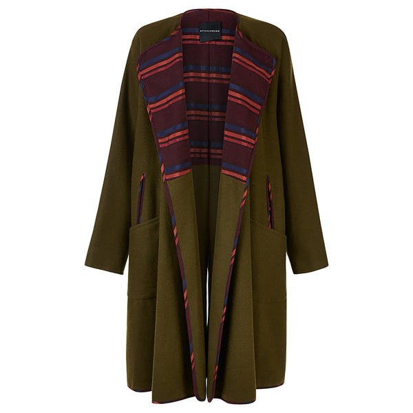 PARASAIL 2-way Coat in Green