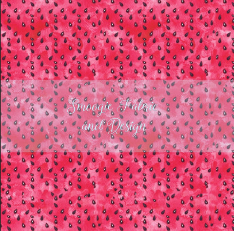 Watermelon - Cotton Lycra