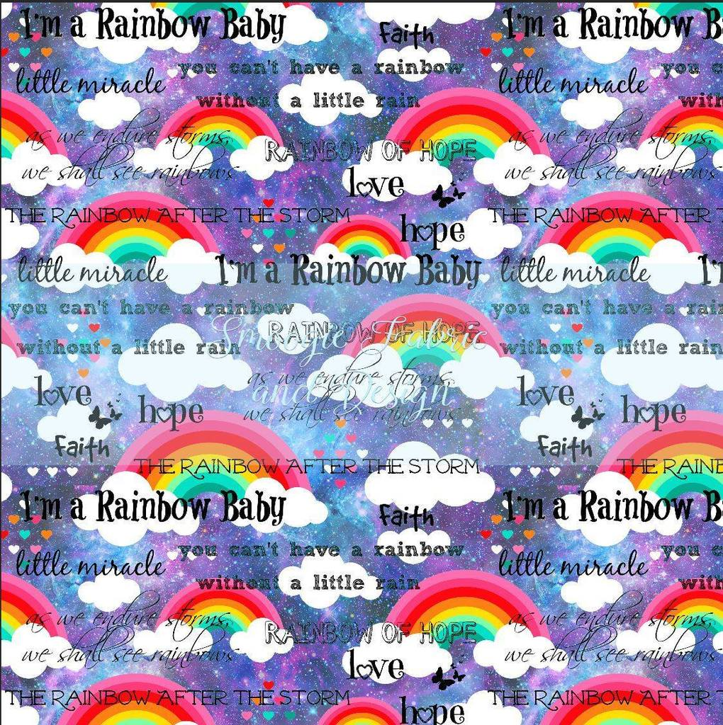 Rainbow Baby - Purple Galaxy