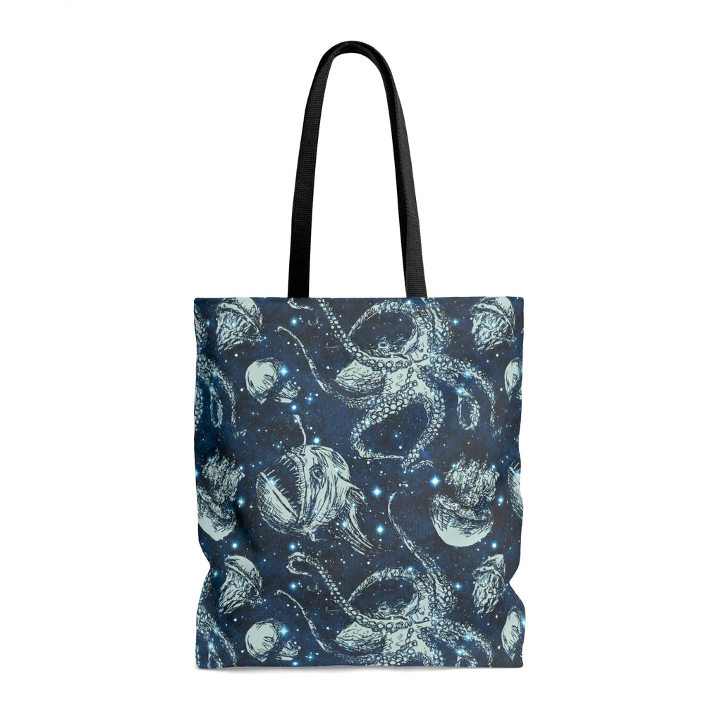 Deep Sea Sky Tote Bag