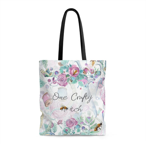 One Crafty *itch Tote Bag