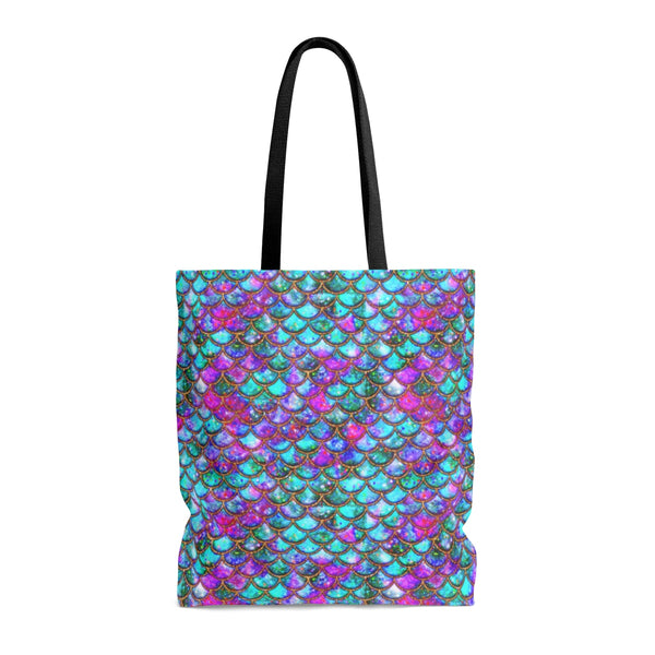 Jewels Gold Scales Tote Bag