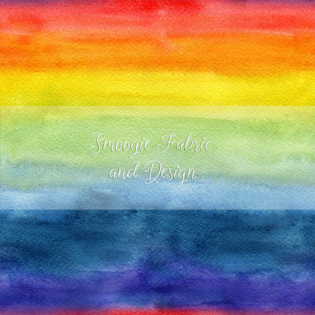 Rainbow Watercolor - Floof
