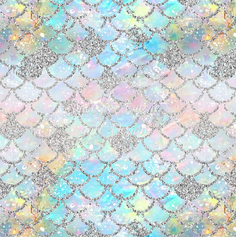 Opal Scales - Small - Cotton Lycra