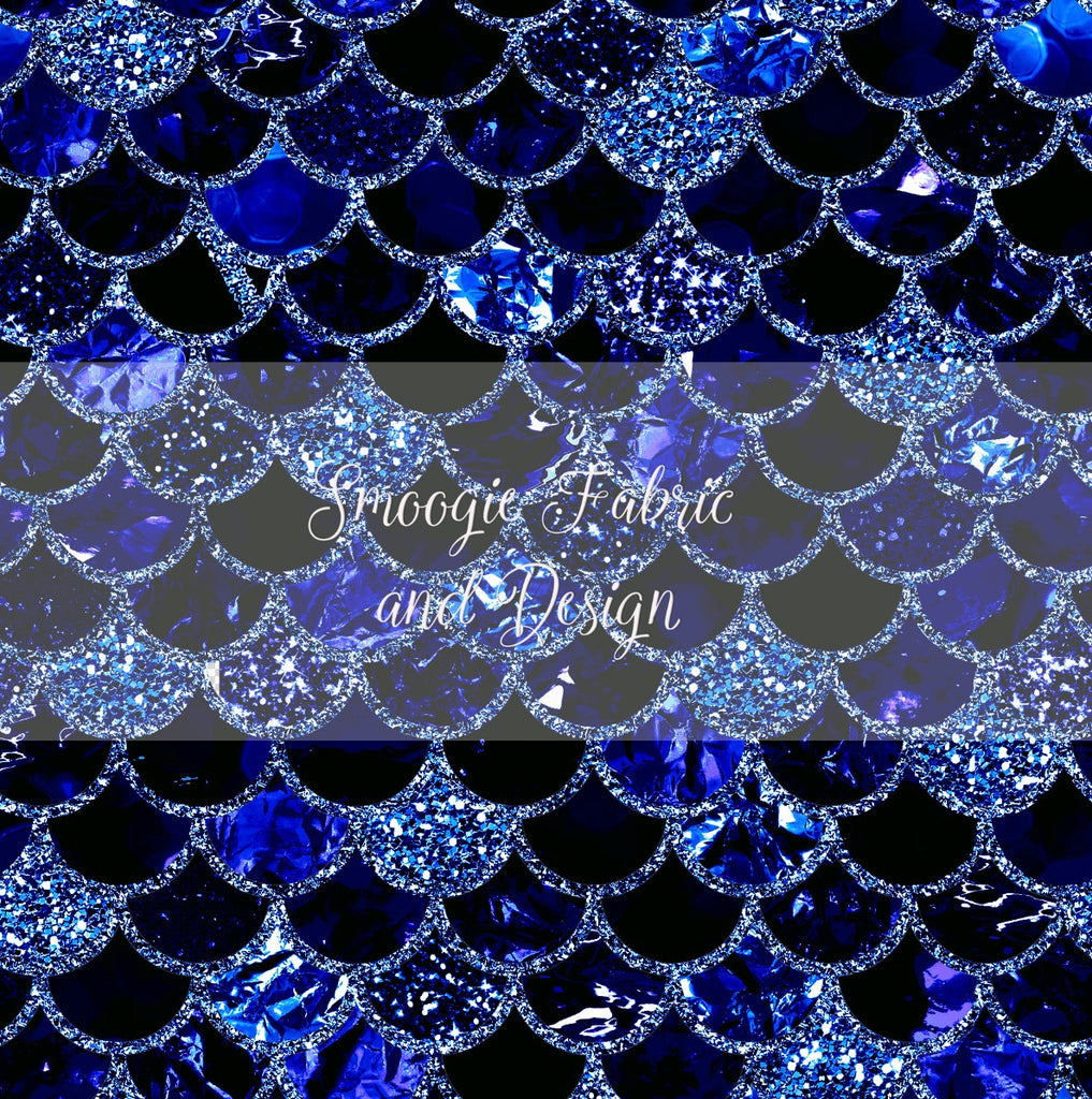 Sapphire Scales - Original - French Terry